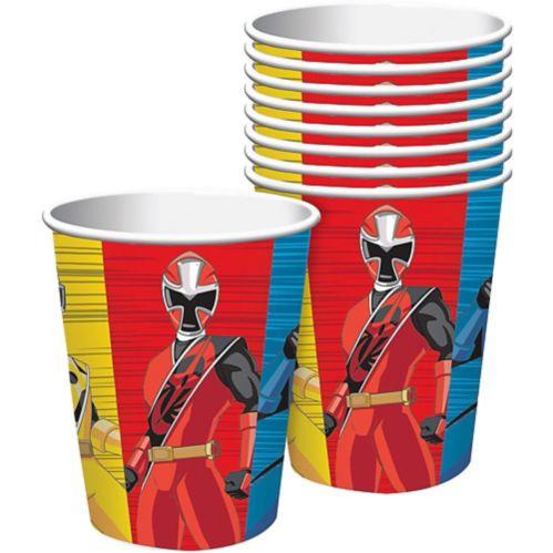 Gobelets Power Rangers Ninja Steel, paq. 8