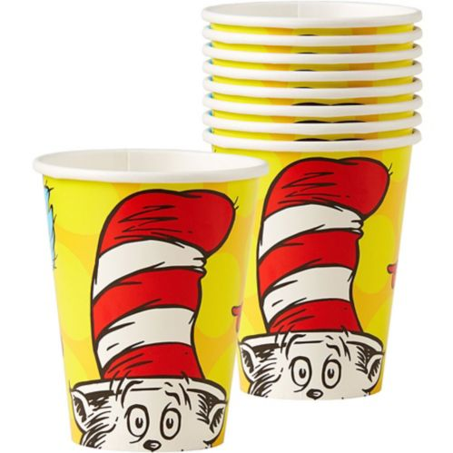 Dr Seuss Cups, 8-pk