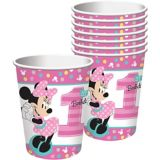 1st Birthday Minnie Mouse Cups, 8-pk | Disneynull