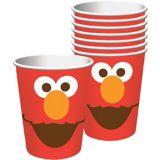 Gobelets Sesame Street Elmo, 9oz, paq. 8 | SESAME WORKSHOPnull