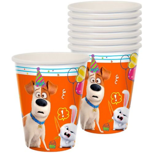 Secret Life of Pets 2 Cups, 8-pk