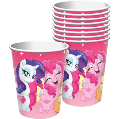 Pink My Little Pony Cups, 8-pk