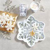Sparkling Snowflake Cups, 9-oz, 8-pk | Amscannull