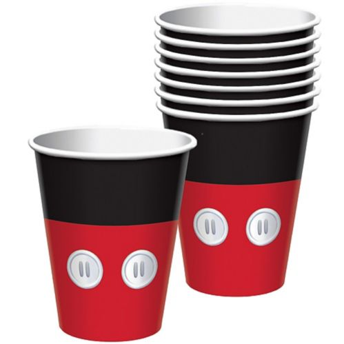 Mickey Mouse Forever Cups, 8-pk