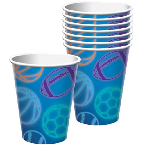 Birthday Baller Cups, 8-pk
