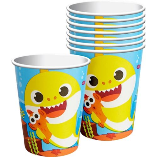 Baby Shark Cups, 8-pk Product image