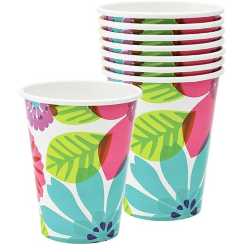 Day in Paradise Cups, 8-pk Product image
