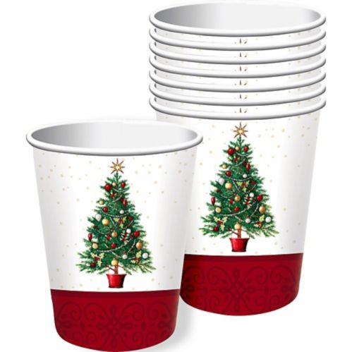 Big Party Pack Oh Christmas Tree Cups, 50-pk