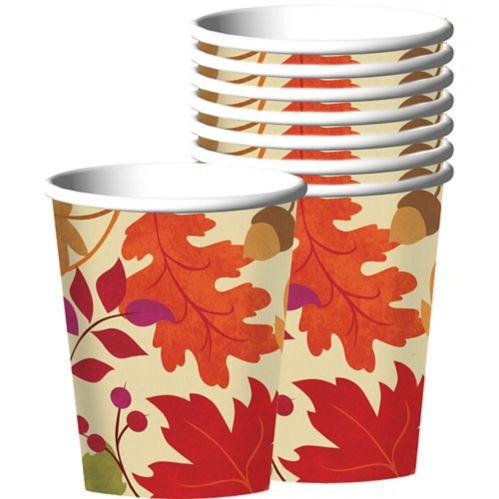Festive Fall Cups, 18-pk