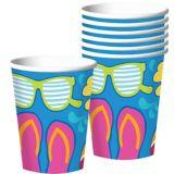Summer Splash Cups, 18-pk | Amscannull