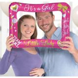 Inflatable Gender Reveal It's A Girl Photo Frame Balloon