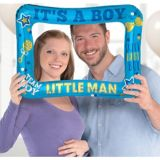 Cadre photo gonflable de dévoilement du sexe It's A Boy