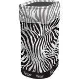 Fling Bin Zebra Pop-Up Trash Bin