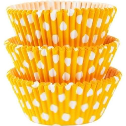 Polka Dot Baking Cups, 75-pk