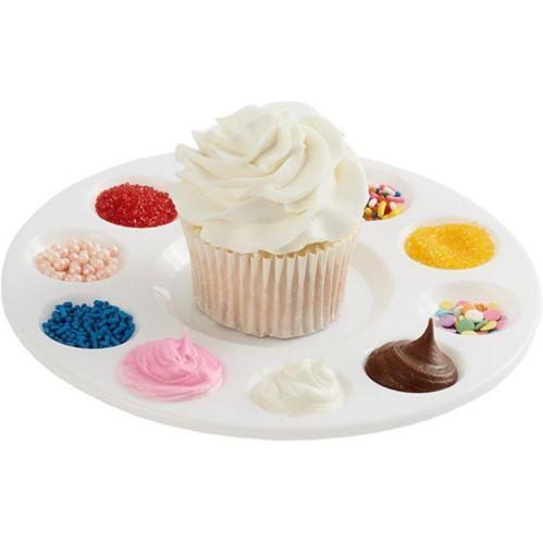 Plateau de décoration pour petits gâteaux