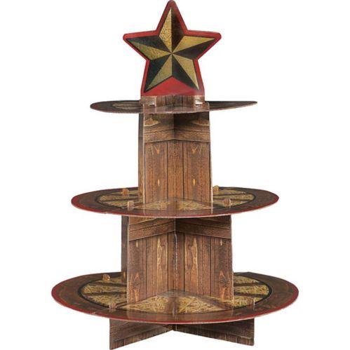Yeehaw Western Cupcake Stand