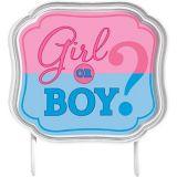 Gender Reveal Cake Topper