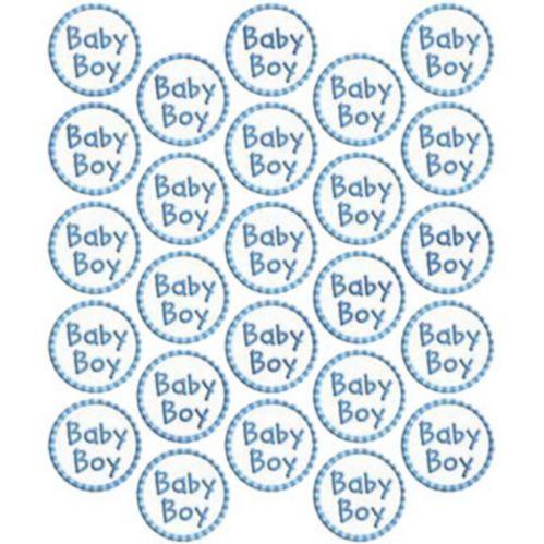 Baby Boy Sticker Seals, 25-pk