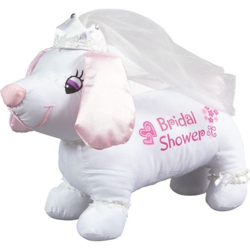 Bridal Shower Autograph Dog, 2-pk