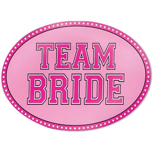 Team Bride Car Magnet Product image