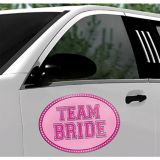Team Bride Car Magnet