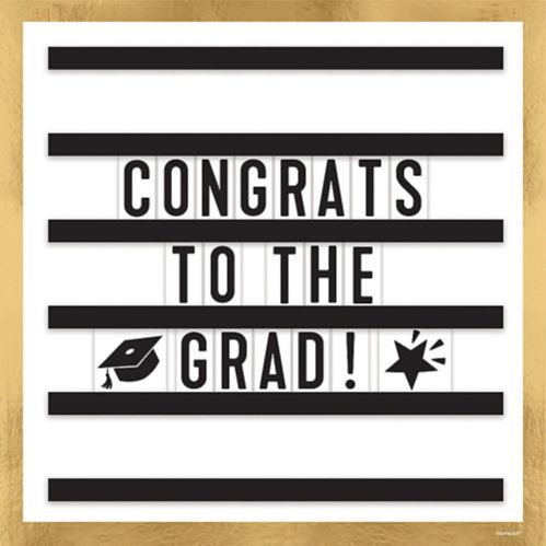 Graduation Message Board Sign