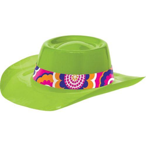 Chapeau de cowboy des années 60, lime