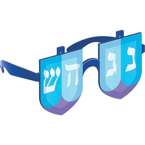 Dreidel Glasses