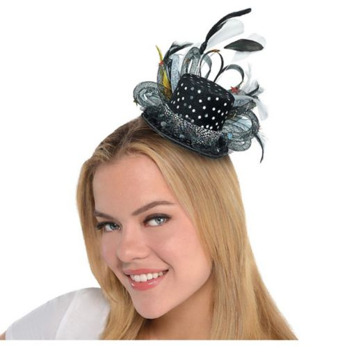Mini Hollywood Top Hat Headband