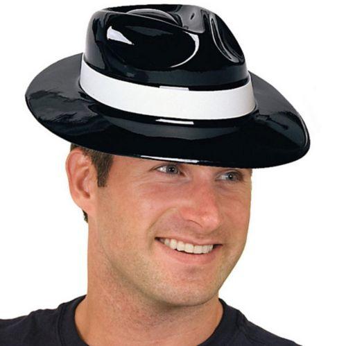 Chapeau de gangster avec bande