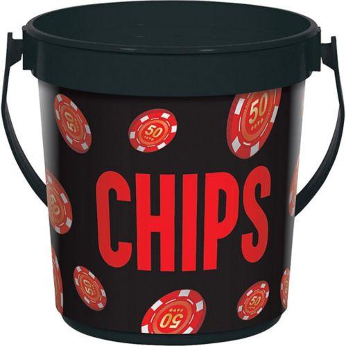 Roll the Dice Casino Chip Bucket