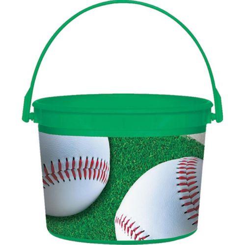 Seau de baseball en plastique, 4,5po Image de l'article
