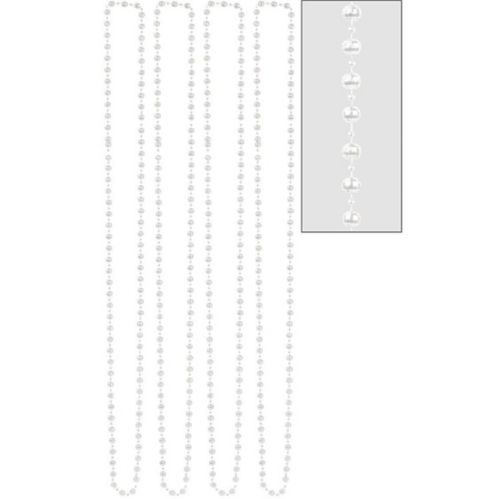 Pearl Bead Necklaces, 4-pk Product image