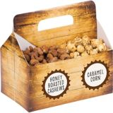 Bar Table Snack Caddy with Labels
