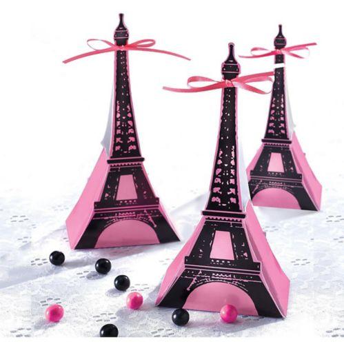 Boîtes-cadeaux d'invités Un jour à Paris, paq. 12