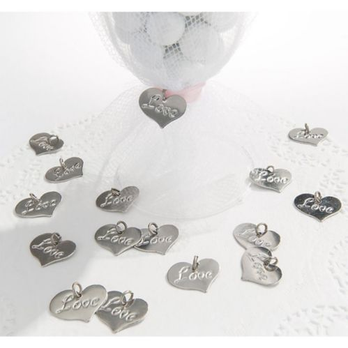 Love Favour Charms, 24-pk