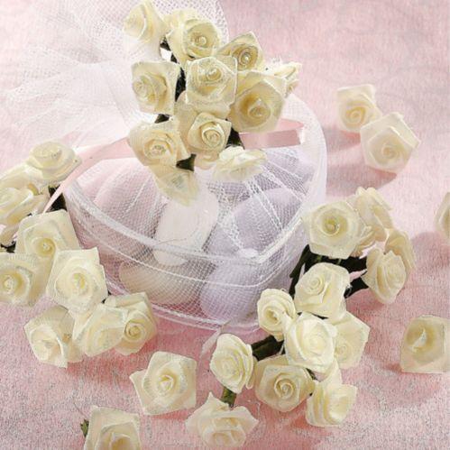 Serviettes de table, rose ivoire, paq. 144
