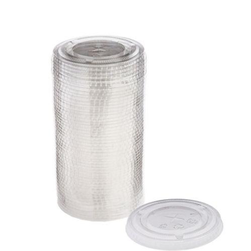Plastic Cup Lids, 16-oz, 50-pk Product image