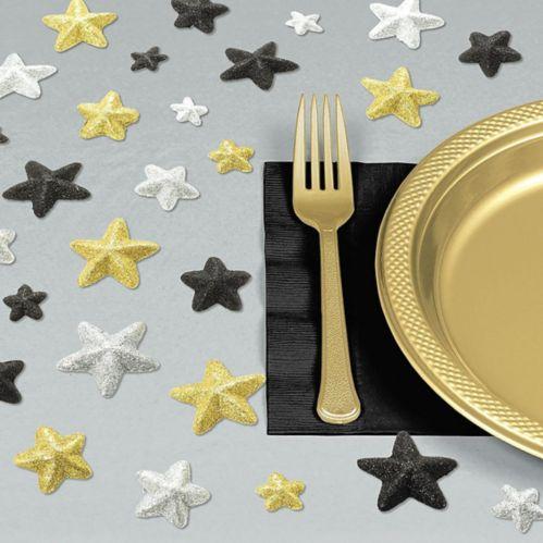 Glitter Star Table Scatter, 32-pk