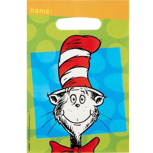 Dr. Seuss Favour Bags, 8-pk