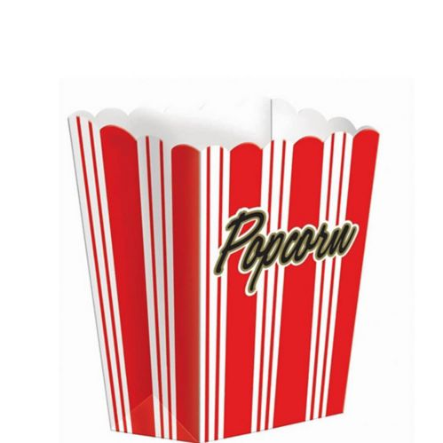 Small Movie Night Popcorn Boxes, 8-pk