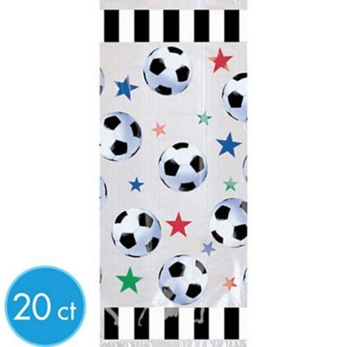 Grands sacs de fête de soccer, paq. 20