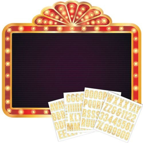Roll the Dice Casino Photo Booth Backdrop Kit
