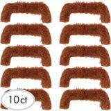 Moustaches des années 1960, paq. 10