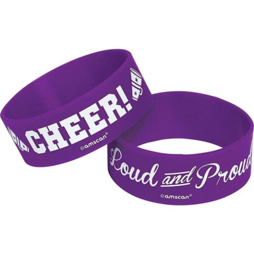 Cheer Wristbands, 2-pk