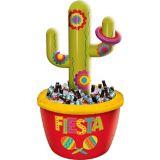 Glacière gonflable pour lancer d'anneau en forme de cactus