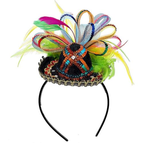 Mini Fiesta Sombrero Headband