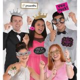 Prom Photo Booth Props, 13-pc