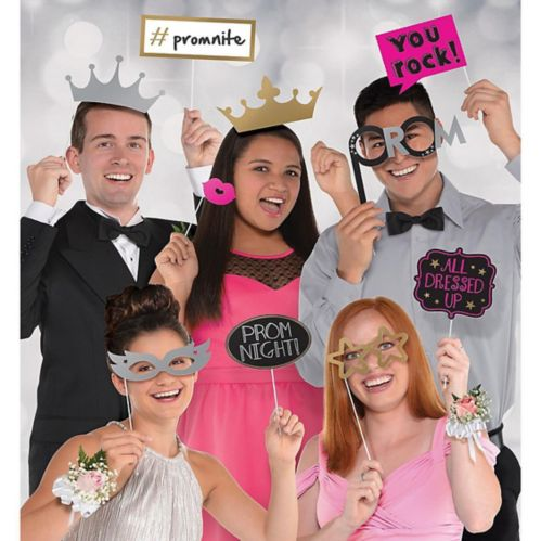 Prom Photo Booth Props, 13-pc Product image