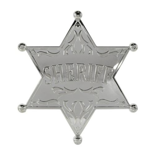 Large Western Sheriff Badge
